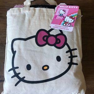 Fleece Blanket & Tote-Hello Kitty (NWT)